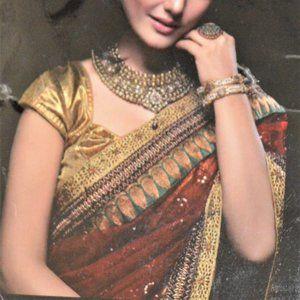 Fancy Party Wear Sequin Sari
